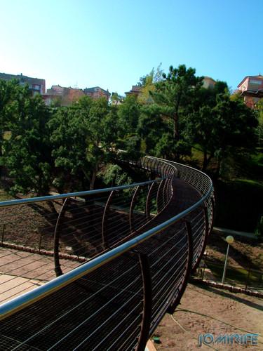 Jardim da Quinta de São Jerónimo (4) Ponte pedestre [en] Garden of the Quinta de San Jerónimo - Pedestrian Bridge