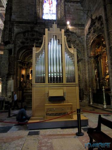 Lisboa - Igreja Mosteiro dos Jerónimos (6) Órgão [en] Lisbon - Jeronimos Monastery Church - Organ