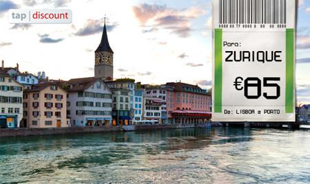 Voos baratos para Zurique na TAP