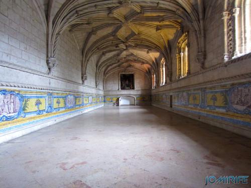 Lisboa - Mosteiro dos Jerónimos (12) Refeitório [en] Lisbon - Jeronimos Monastery - Dining hall