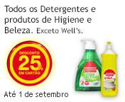 Detergentes Higiene e Beleza Continente