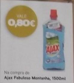 Acumulação 25% + vales | PINGO DOCE | Ajax de 18 a 24 fevereiro