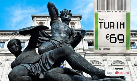 Voos baratos para Turim - voos low-cost Turim Itália