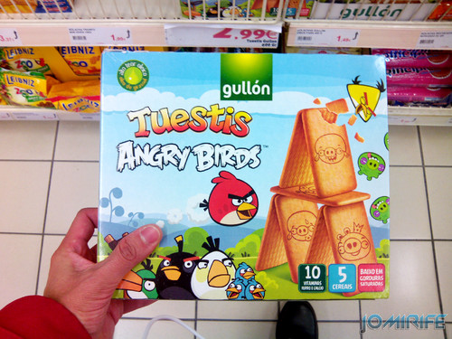 Bolachas Angry Birds [en] Angry Birds Crackers
