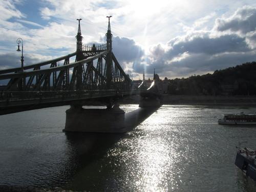 Budapeste: Ponte Francisco José ou Ponte da Liberdade