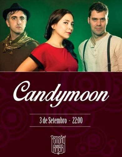 Farol Música _Candymoon no dia 03 de Setembro na