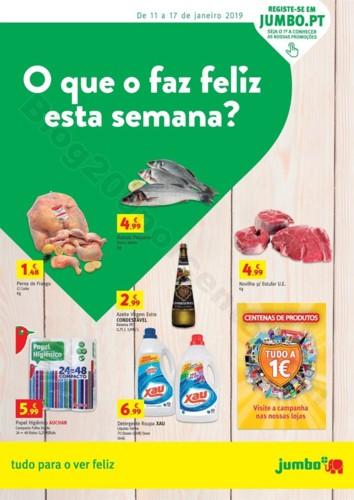 Antevisão Folheto JUMBO Promoções de 11 a 17  j