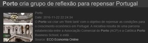 NEXUS – Grupo de reflexão para repensar Portuga