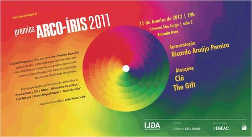 Prémios Arco-Íris 2011 - São Jorge, 19h