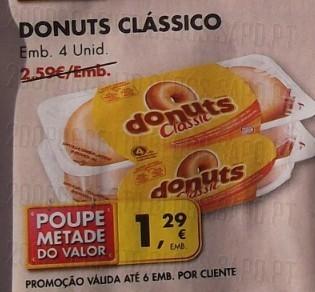 Acumulação 50% + Vale | PINGO DOCE | Donuts