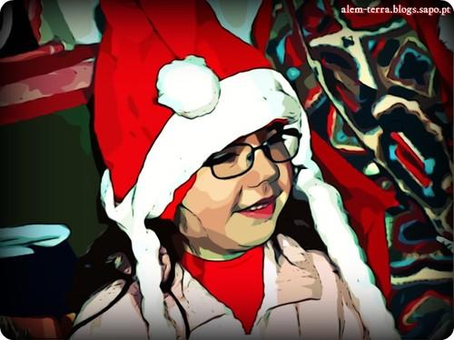 «O Pai Natal à beira do menino Jesus é um velhote.»