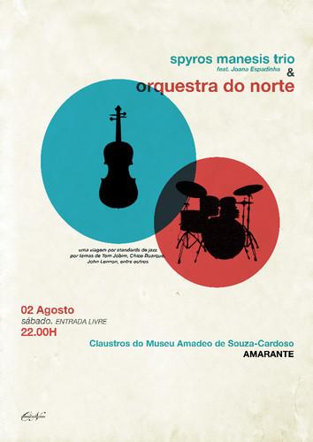 Spyros Manesis Trio feat. Joana Espadinha & Orquestra do Norte