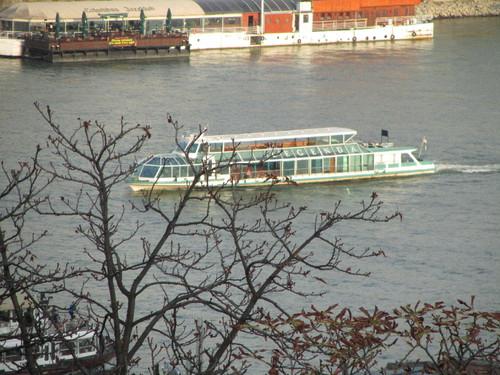 Budapeste: Barcos no Danúbio