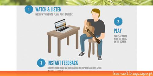 Lições de instrumentos musicais Online - Forma fácil de aprender música