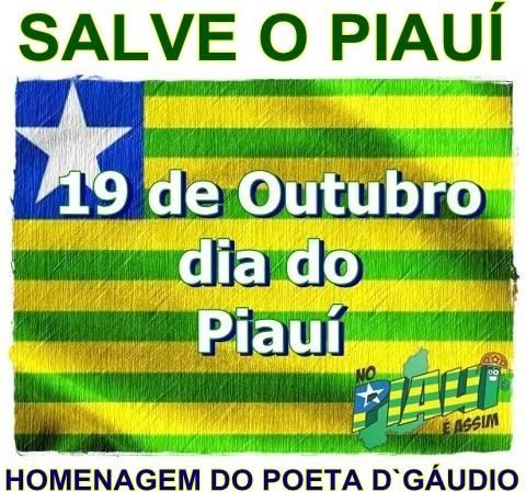 SALVE O PIAUÍ/ 19 DE OUTUBRO