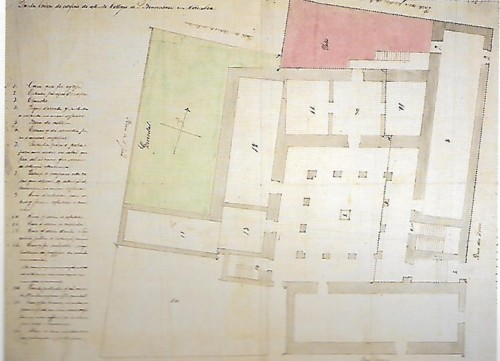 Colégio de S. Boaventura 2 planta meados séc. XI