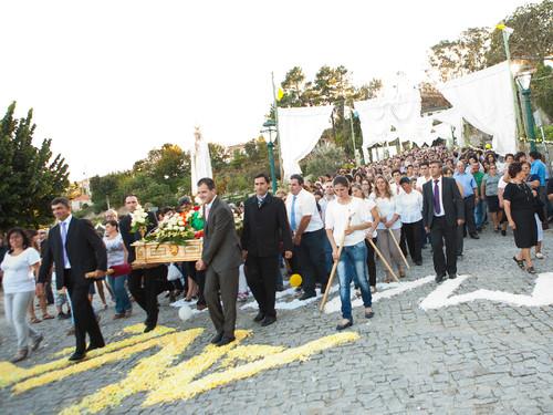 Imagem Peregrina em Boelhe, 9 Out. 2011