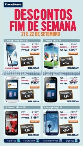 Desconto até 300€ em Smartphones Desbloqueados