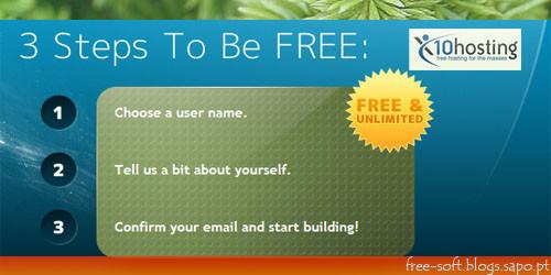 Free Hosting Server - Servidor Hospedagem/Alojamento Web site grátis