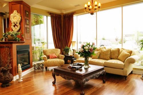Salas cl ssicas e ideias simples decora o e ideias for V d interior designer