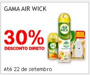 Desconto Direto 30% Airwick