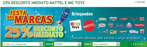 Antevisão 25% Brinquedos | JUMBO | Mattel e IMC Toys, de 4 a 11 Novembro