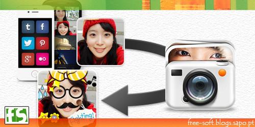 Editar fotos em Android Tablet telemóvel