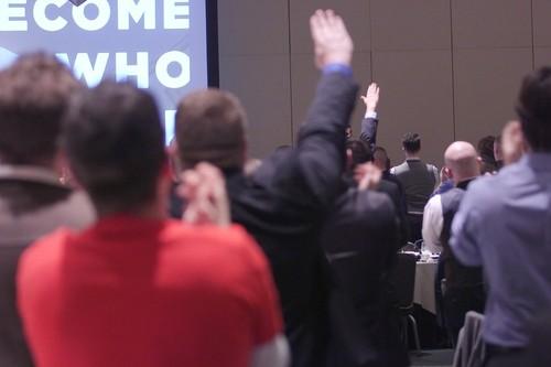 'Hail Trump!' White Nationalists Salute the Presid