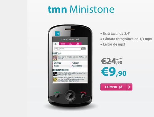 Outlet TMN telemóveis a partir de 9,90€
