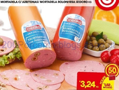 Izidoro Charcutaria com 50%