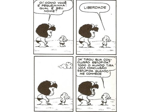Mafalda, Liberdade