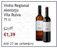 Vinho Regional Alentejo, Vila Ruiva, super Preço