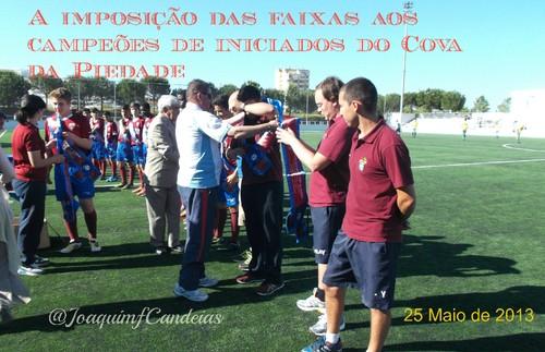 INICIADOS DO COVA DA PIEDADE RECEBERAM AS FAIXAS