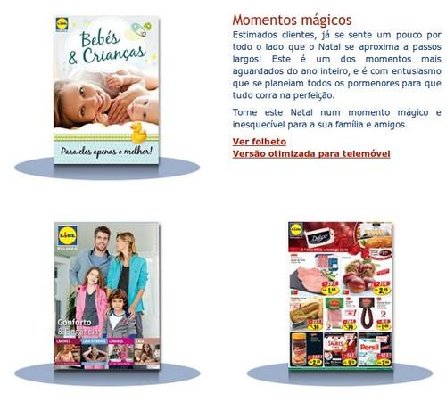 Novos folhetos | LIDL |