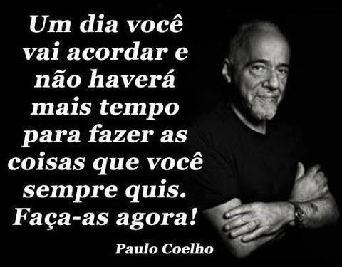 Paulo Coelho, um dia