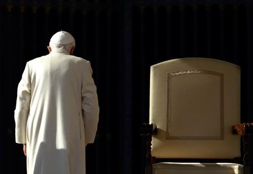 O Adeus de Ratzinger