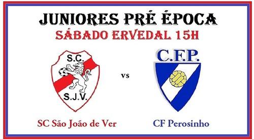 Juniores SC S João de Ver vs FC Perosinho
