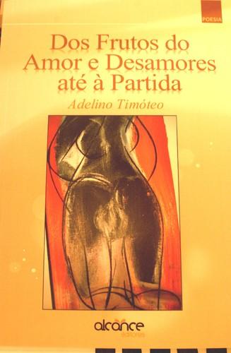 Capa do livro de Adelino Timóteo