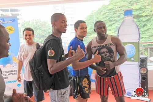 fight society kickboxing angola fight