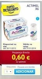 Acumulação Iogurtes   CONTINENTE   Danone Actimel