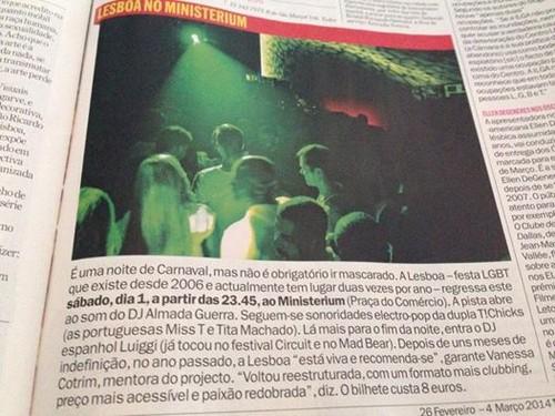 Secção Gay / Time Out Lisboa