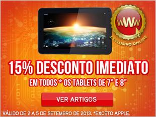 worten tablets com 15% desconto