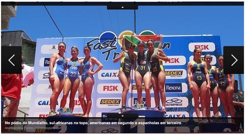 Arraial do Cabo - Foto reprodução Ana Carolina - Globoesporte.com