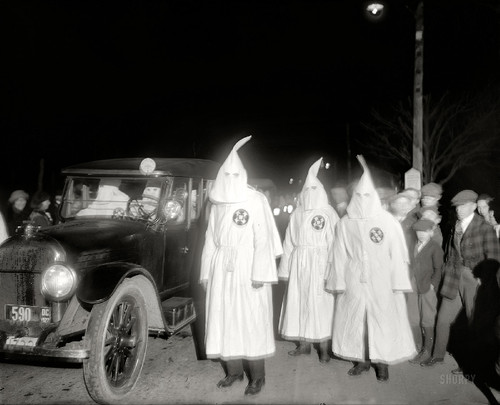 Washington, D.C. March 18, 1922. Ku Klux Klan. And
