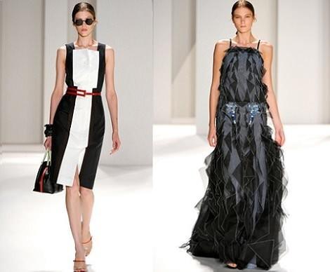 ... a Coleção de Carolina Herrera. O vestuário é maioritarimente simples,  alguns pormenores mais extravagantes e alguns acessórios de moda são os  detalhes ... 72d0cf69d2