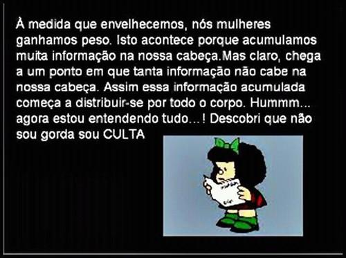 Mafalda, sou culta
