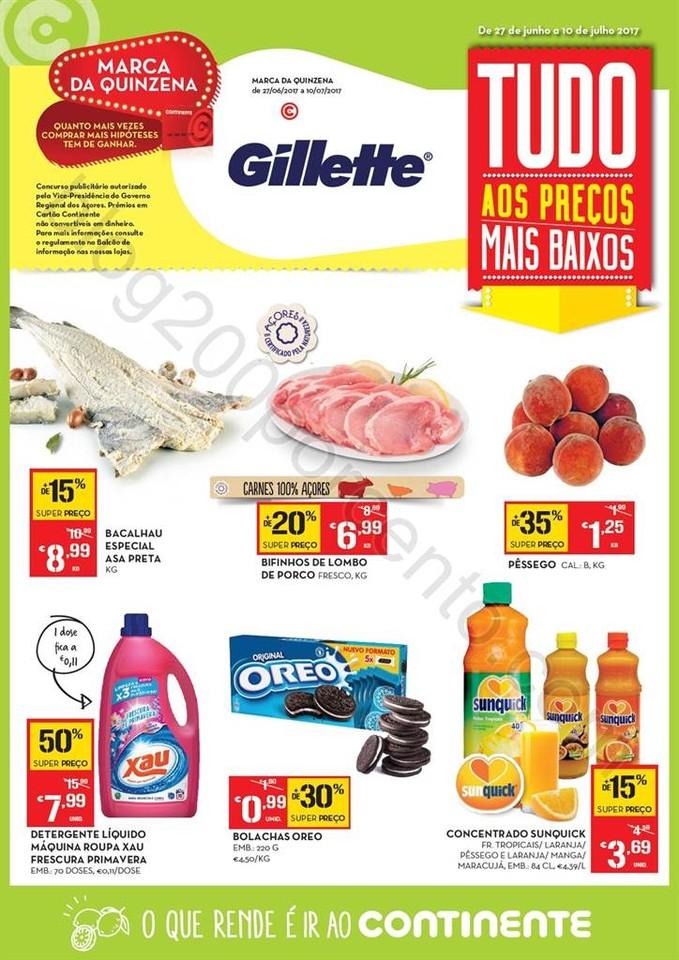 Antevisão Folheto CONTINENTE Açores de27 junho a