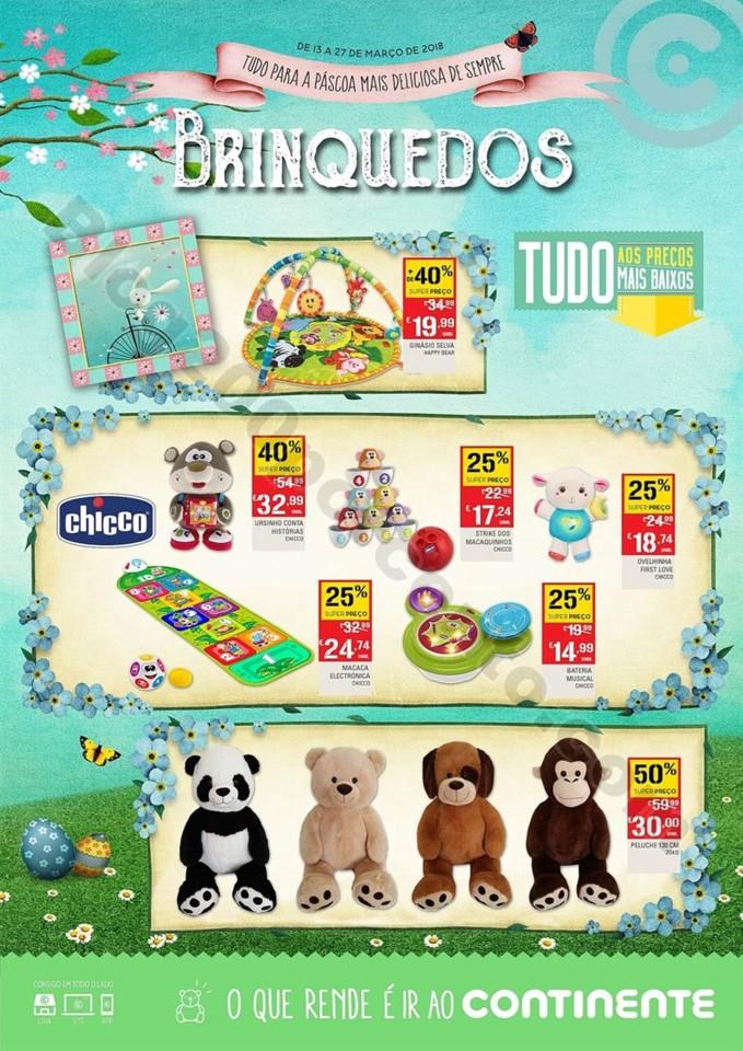 Antevisão Folheto CONTINENTE Brinquedos Páscoa p