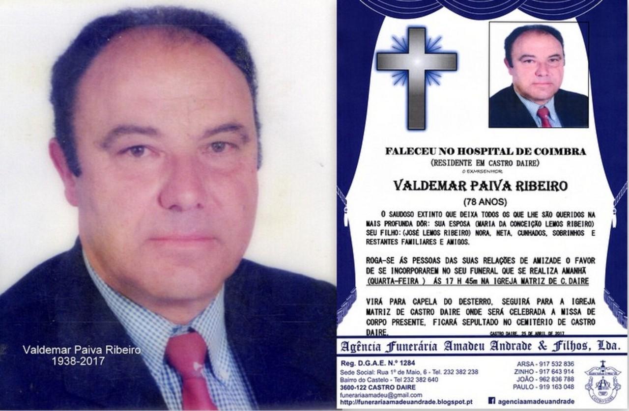 AA-FOTO, RIP  DE VALDEMAR PAIVA RIBEIRO -78 ANOS.j