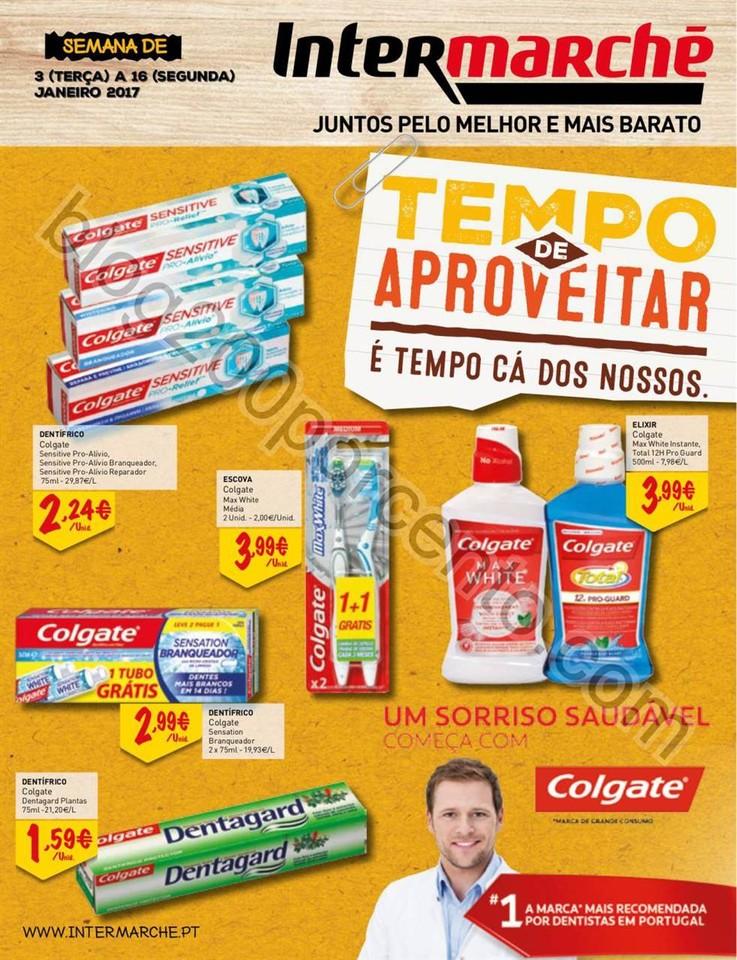 Antevisão Folheto INTERMARCHÉ Colgate promoçõe